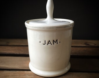 Jam Pot - READY TO SHIP