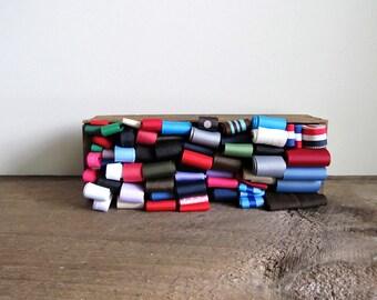 Large Assortment of Grosgrain Ribbon– Destash Lot