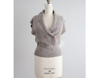 silk & angora sweater | silk sweater | fuzzy sweater