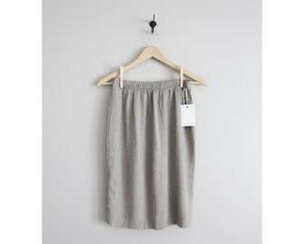 textured skirt / muted skirt / short skirt