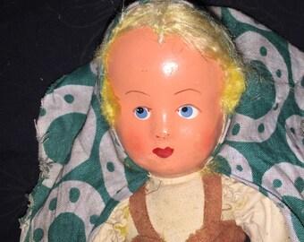 Vintage Polish Rag Doll