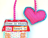 Hang Some Happiness -- Home & Heart Decor -- Home is Where the Heart is