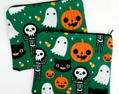 Halloween themed Zipper Pouch - Coin Purse