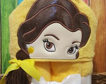 Rose Princess Hooded Towel