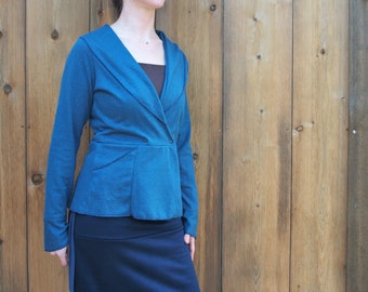 Bethany Blazer ~ Hemp & Organic Cotton ~ Made to Order