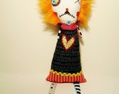 Handmade Art Doll (Monster Moll)