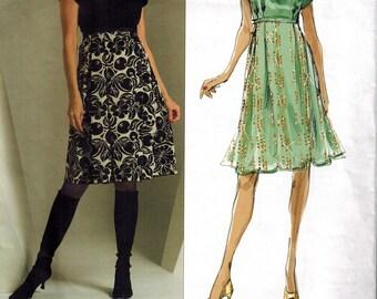 Vogue 2927 Vogue American Designer Anna Sui Dress Sewing Pattern Sizes 6-8-10-12 UNCUT