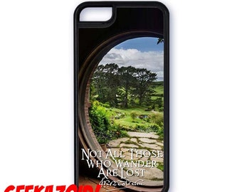 Not All Those Who Wander Are Lost- JRR Tolkien Lord of the Rings Quote Cell Phone Case for iPhone and Samsung Galaxy
