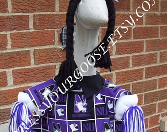 Northwestern Wildcats Cheer - Goose Outfit by Julie