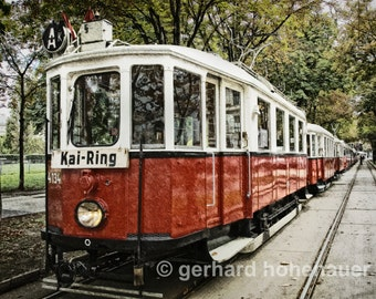 Old Vienna Tramway / Digital-Work-Photography