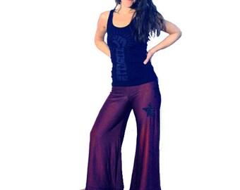 Purple Funk Star Dancin' Pants