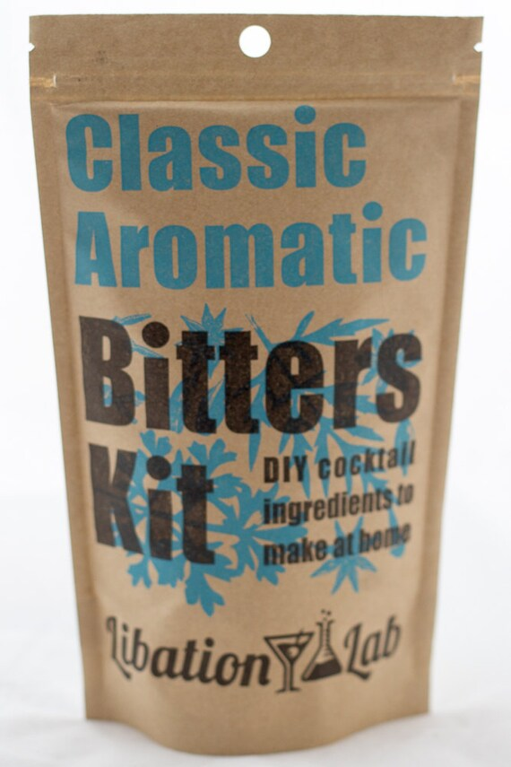 DIY Cocktail Bitters Kit (Classic Aromatic)