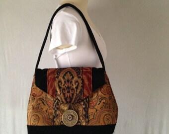 Genessa Medium Classic Shoulder Bag