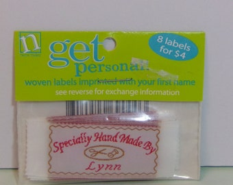 Name Maker Get Personal Woven Name Labels LYNN