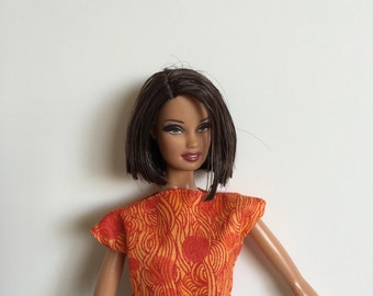 Barbie Clothes Handmade  Top Only Mix n Match Designs by P D Reneau (S517)