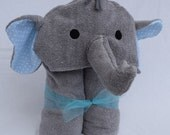 Special Listing for Marissa - 2 Elephant Hooded Towels