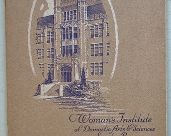 Individualizing Tissue-Paper Patterns 1920s Woman's Institute of Domestic Arts & Sciences - vintage 20s needlework dressmaking sewing book