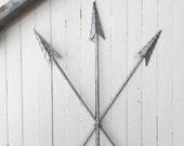 Arrow Wall Art, SALE Arrow Wall Decor, Arrow Wall Hanging, Metal Decor, Tribal Decor, Native America, Native American Arrow, Arrow Art