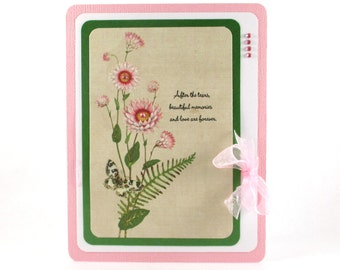 Sympathy card, mourning,  bereavement card, sorry for your loss