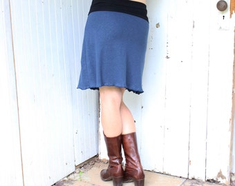 Hemp Sweet and Simple Skirt - Organic Fabric - Made to Order - Many Colors to Choose From - Eco Fashion
