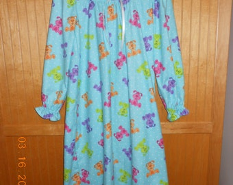 Size 12/14 flannel nightgown