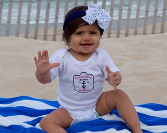 Beach Baby Onsie Newborn (up to 13 lbs.)