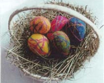 Felted Spring Egg Kit