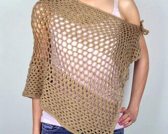 Trio Mesh Shawl - PDF Crochet Pattern - Instant Download