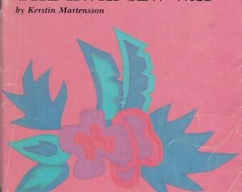 Applique The Kwik-Sew Way 1988 Kerstin Martensson Instructions Patterns Illustrations