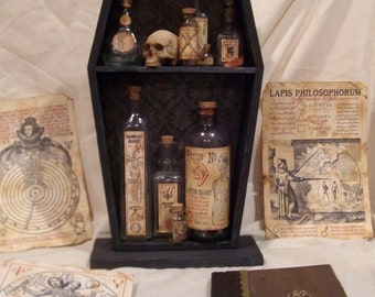 Alchemy Shelf For The Accomplished Witch or Wizard