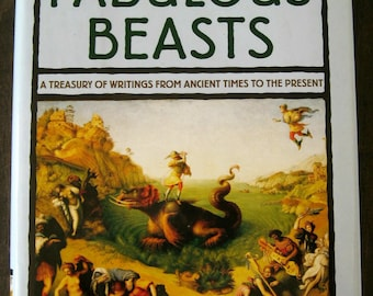The Book of Fabulous Beasts - Mythical Creatures - Dragons - Unicorns - Literature - History, Free Shipping