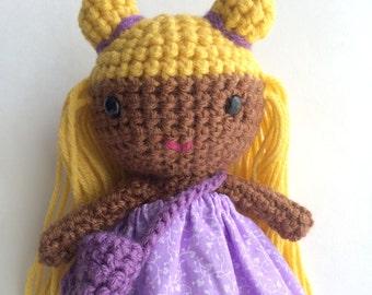 Lovely handmade crochet doll