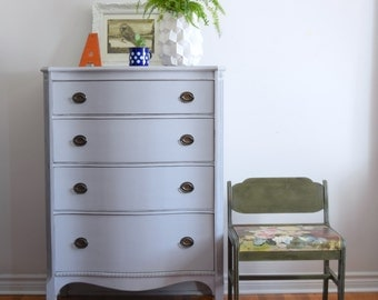 Paris Grey Tallboy Dresser