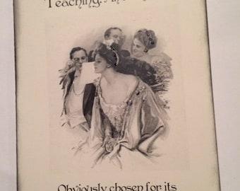 Vintage Style, Sassy Teacher Cards