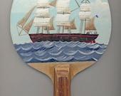Original painted bat: The Clipper Ship