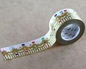 Crown Gold, Mina Perhonen, Japanese mt Washi Paper Masking Tape, Card Decoration, Adhesive Tape, Kawaii Planner Decoration, mtmina24