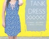 The Tank Dress by Sew Caroline Sewing Patterns