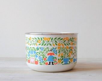Vintage Kobe Enamel Bowl