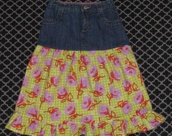 Girls Ruffle Skirt Size 5/6