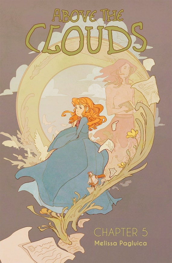 Above the Clouds - Chapter 5 comic book - all ages fantasy adventure
