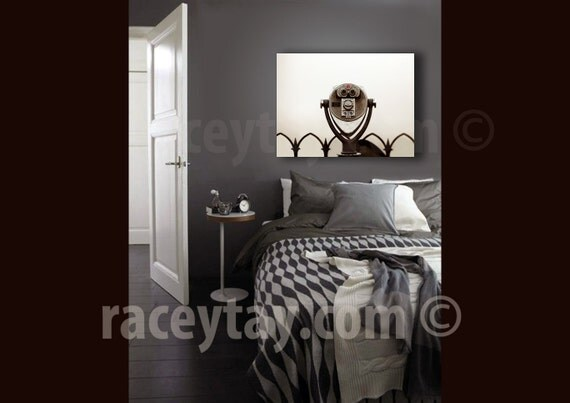 Large Wall Art Canvas, New York Skyline Canvas, Gray, Silver, Minimalist, New York Canvas, Bedroom Decor
