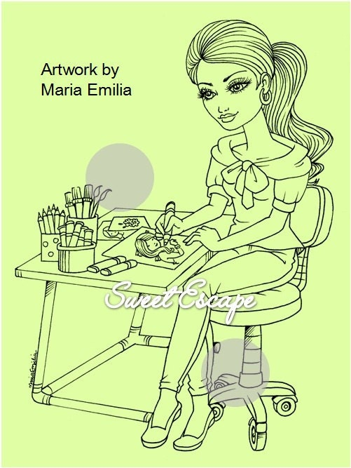 digital clock coloring pages - photo #35