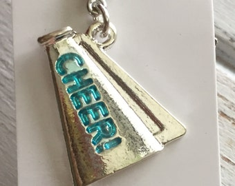 Cheer Charm with Lobster Claw Clasp Cheerleading Charm