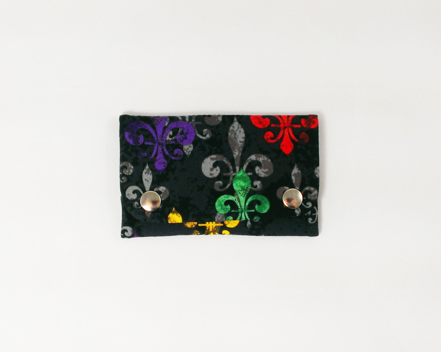Fleur de lis wallet business card holder slim wallet women zoom magicingreecefo Gallery