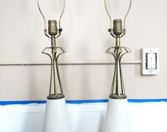 Pair of Awesome MCM Lamps
