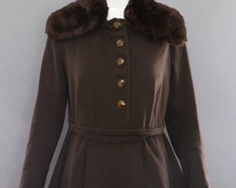 20s MILITARY WWI inspired art deco sheared beaver trim fur wool jacket set of Boardwalk Empire 1920s 1900s vintage coat winter
