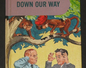 1962 Down Our Way - NICE 2nd grade basic reader - classmate edition