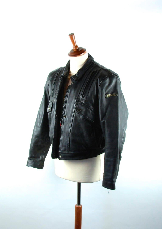 hein gericke motorcycle jacket echt leder size 42 w. Black Bedroom Furniture Sets. Home Design Ideas