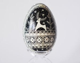 Christmas SALE, black and white eggs, Ostereier Ukrainian Easter egg pysanka,Christmas decorations, where to buy ukrainian eggs