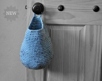 Door Knob Storage Sack Bedroom Organizer Doorknob Bag Catchall Crocheted Decor Door Knob Supply Holder